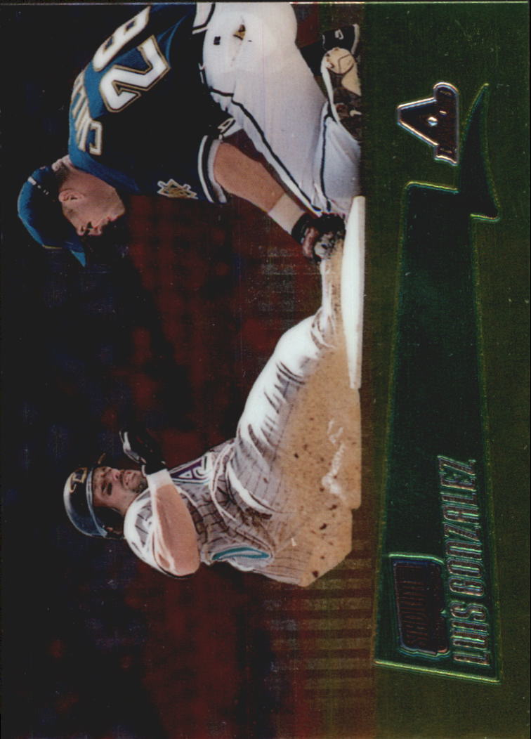 2000 Stadium Club Chrome #148 Luis Gonzalez