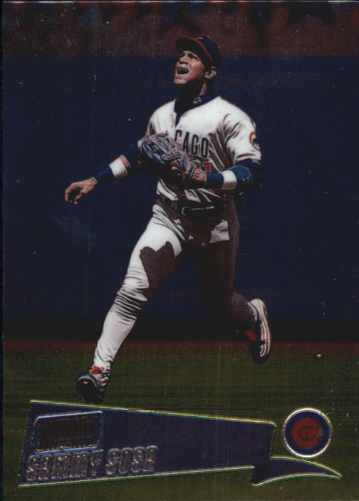 2000 Stadium Club Chrome #175 Sammy Sosa