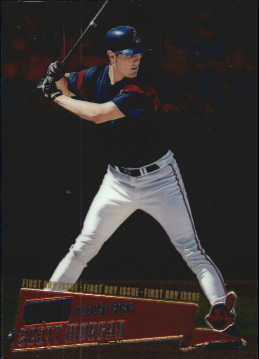 2000 Stadium Club Chrome First Day Issue #211 Scott Morgan