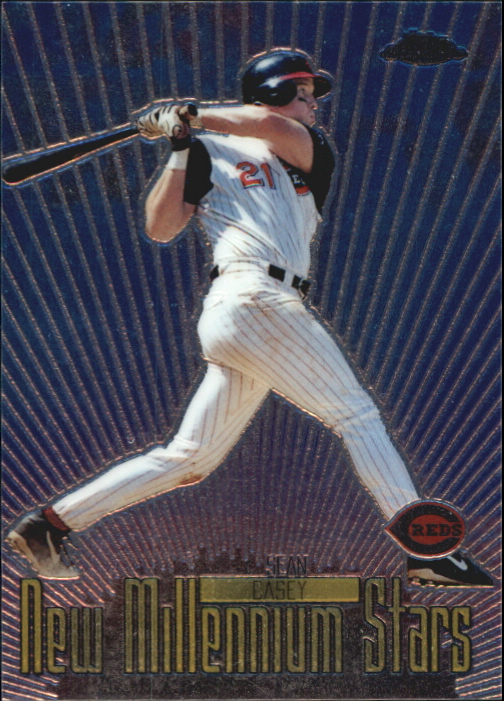 2000 Topps Chrome New Millennium Stars #NMS3 Sean Casey