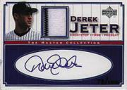 2000 Upper Deck Yankees Master Collection Mystery Pack Inserts #DJJ Derek Jeter Jsy AU/100