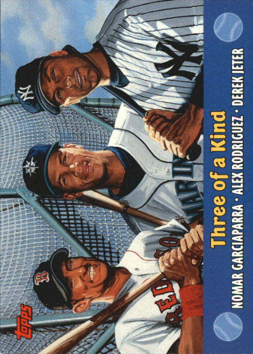 2000 Topps Combos #TC5 Three of a Kind