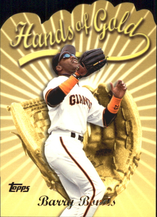2000 Topps Hands of Gold #HG1 Barry Bonds