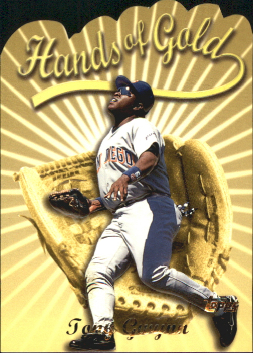 2000 Topps Hands of Gold #HG5 Tony Gwynn