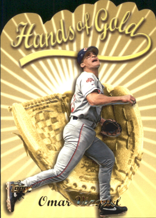 2000 Topps Hands of Gold #HG6 Omar Vizquel