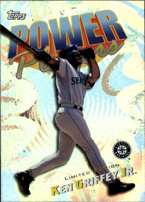2000 Topps Limited Power Players #P2 Ken Griffey Jr.