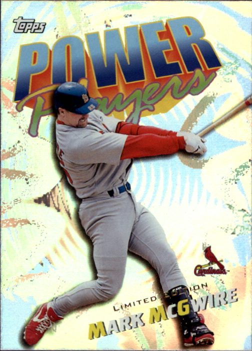2000 Topps Limited Power Players #P3 Mark McGwire