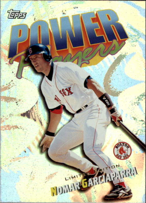 2000 Topps Limited Power Players #P4 Nomar Garciaparra