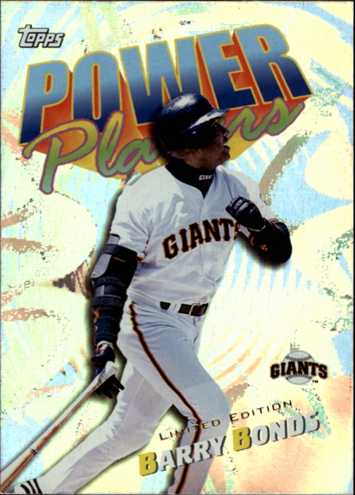 2000 Topps Limited Power Players #P5 Barry Bonds