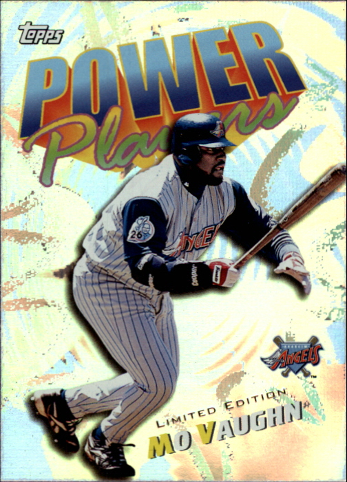 2000 Topps Limited Power Players #P6 Mo Vaughn