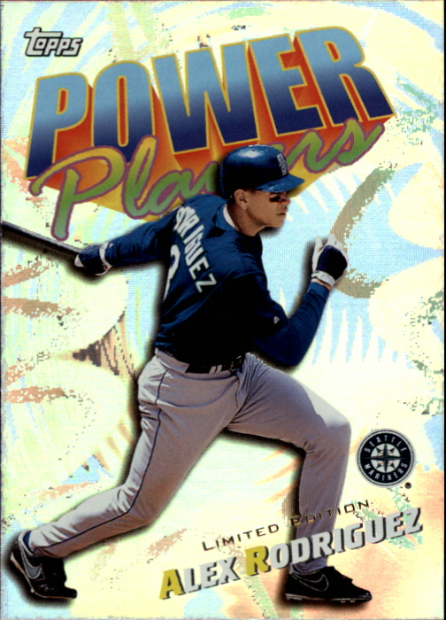 2000 Topps Limited Power Players #P8 Alex Rodriguez