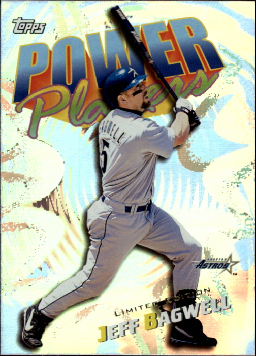 2000 Topps Limited Power Players #P10 Jeff Bagwell