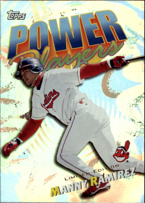 2000 Topps Limited Power Players #P11 Manny Ramirez