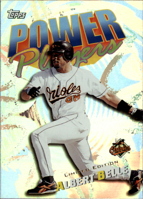 2000 Topps Limited Power Players #P12 Albert Belle