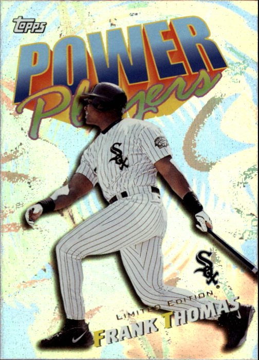 2000 Topps Limited Power Players #P13 Frank Thomas