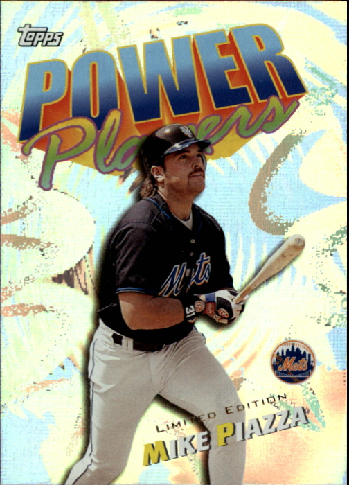2000 Topps Limited Power Players #P14 Mike Piazza