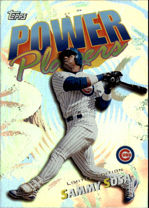 2000 Topps Limited Power Players #P16 Sammy Sosa