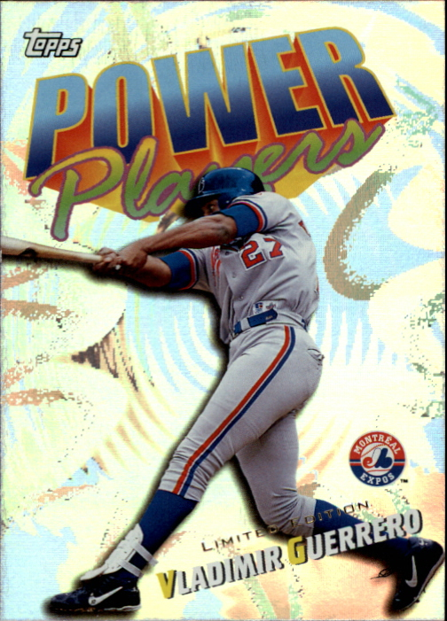 2000 Topps Limited Power Players #P17 Vladimir Guerrero