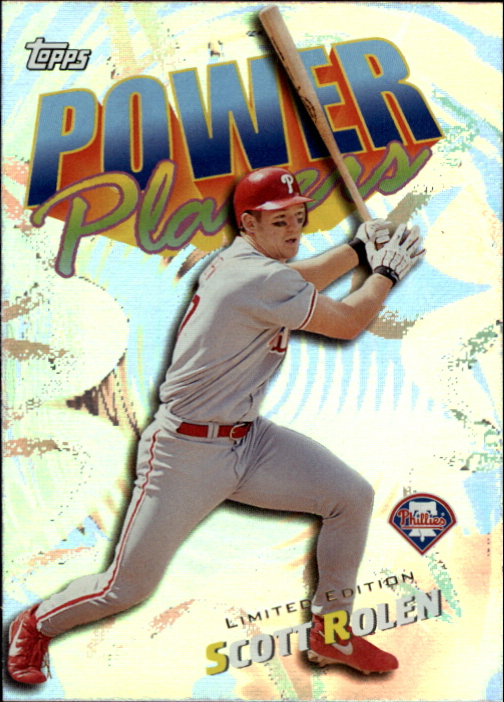 2000 Topps Limited Power Players #P18 Scott Rolen