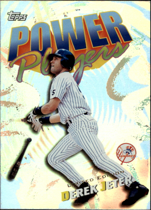 2000 Topps Limited Power Players #P20 Derek Jeter