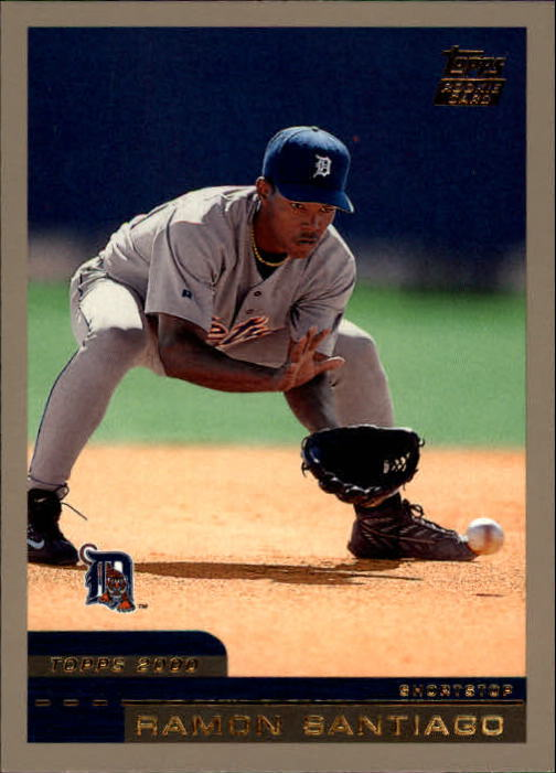 2000 Topps Traded #T59 Ramon Santiago RC