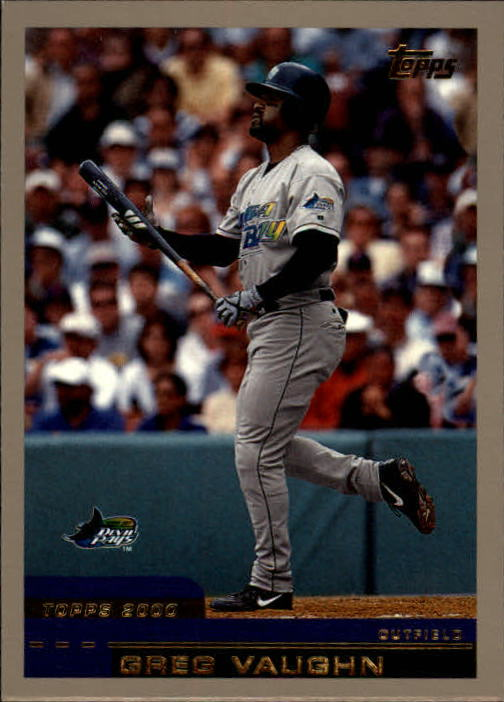 2000 Topps Traded #T106 Greg Vaughn
