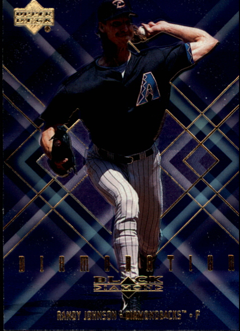 2000 Black Diamond Diamonation #D2 Randy Johnson