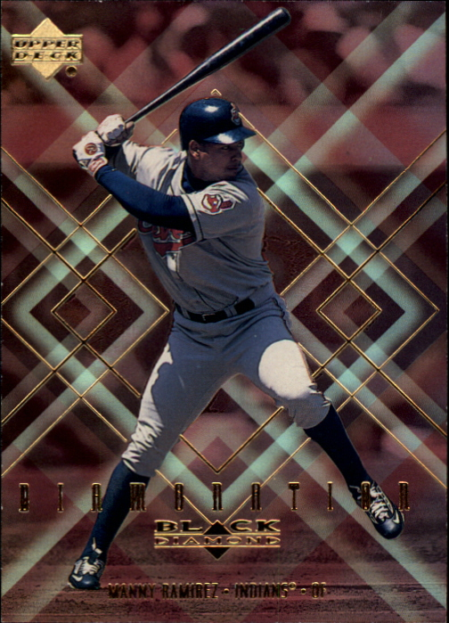 2000 Black Diamond Diamonation #D4 Manny Ramirez