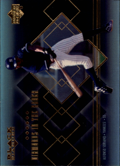 2000 Black Diamond Diamonds in the Rough #R3 Alfonso Soriano