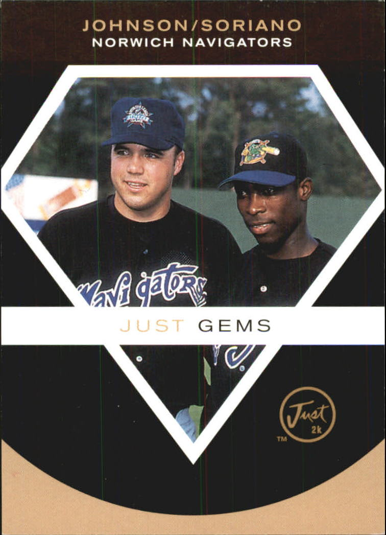 2000 Just Promos Imagine #NNO N.Johnson/A.Soriano Gems