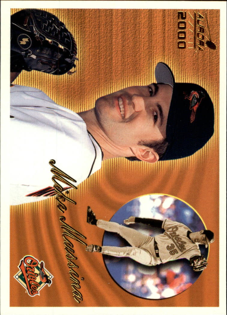 2000 Aurora #18 Mike Mussina