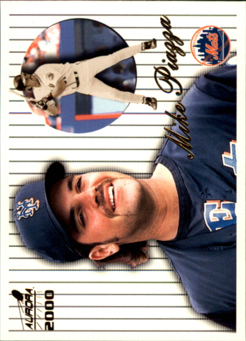 2000 Aurora Pinstripes #94 Mike Piazza
