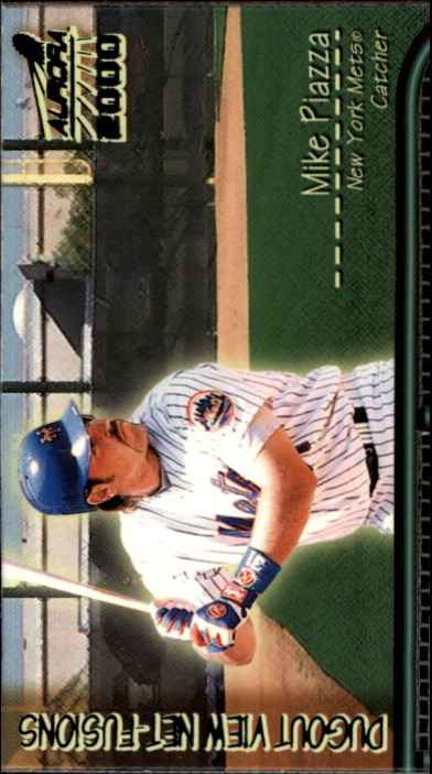 2000 Aurora Dugout View Net Fusions #13 Mike Piazza
