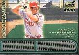 2000 Aurora Dugout View Net Fusions #15 Scott Rolen