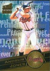 2000 Aurora Pennant Fever #1 Andruw Jones