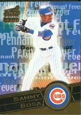2000 Aurora Pennant Fever #7 Sammy Sosa