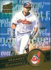 2000 Aurora Pennant Fever #8 Manny Ramirez