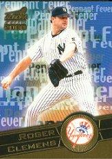 2000 Aurora Pennant Fever #12 Roger Clemens