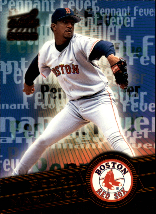 2000 Aurora Pennant Fever Copper #6 Pedro Martinez