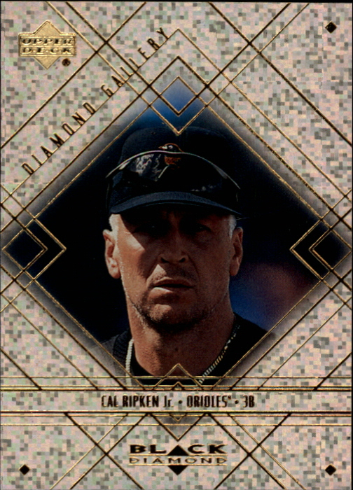 2000 Black Diamond Gallery #G4 Cal Ripken