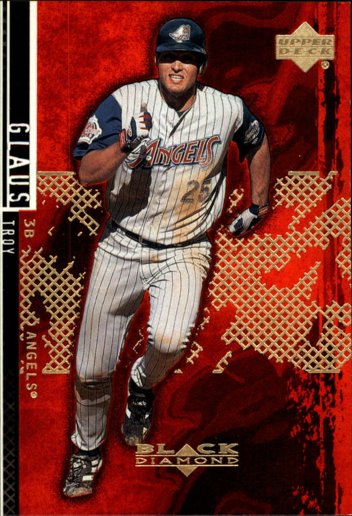 2000 Black Diamond Rookie Edition #1 Troy Glaus