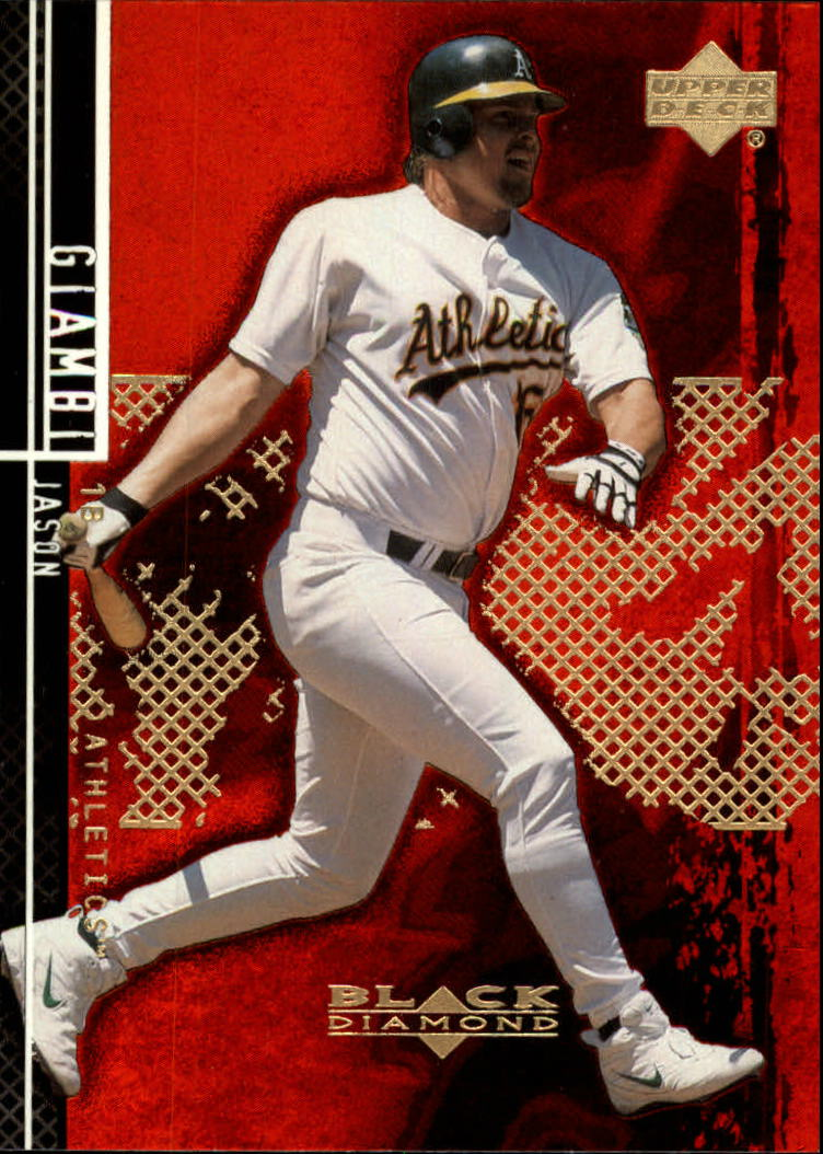 2000 Black Diamond Rookie Edition #4 Jason Giambi