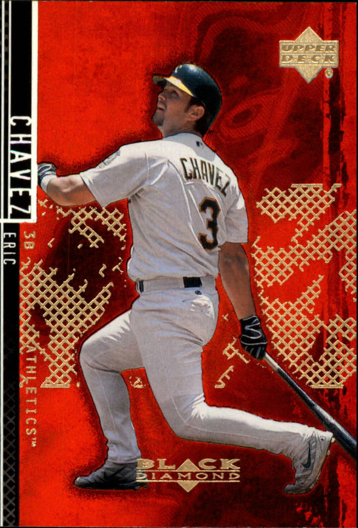 2000 Black Diamond Rookie Edition #7 Eric Chavez