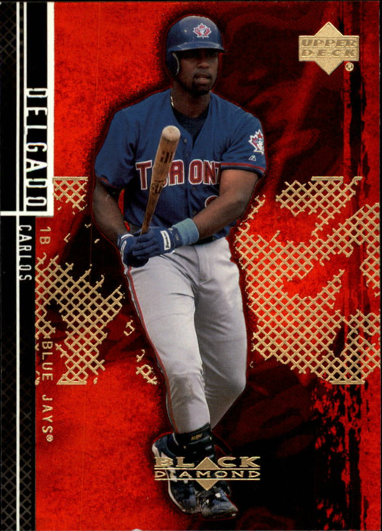 2000 Black Diamond Rookie Edition #9 Carlos Delgado
