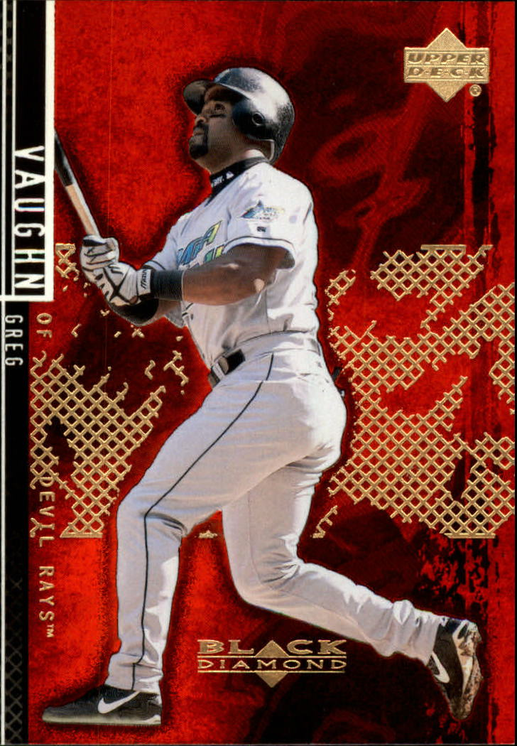 2000 Black Diamond Rookie Edition #11 Greg Vaughn