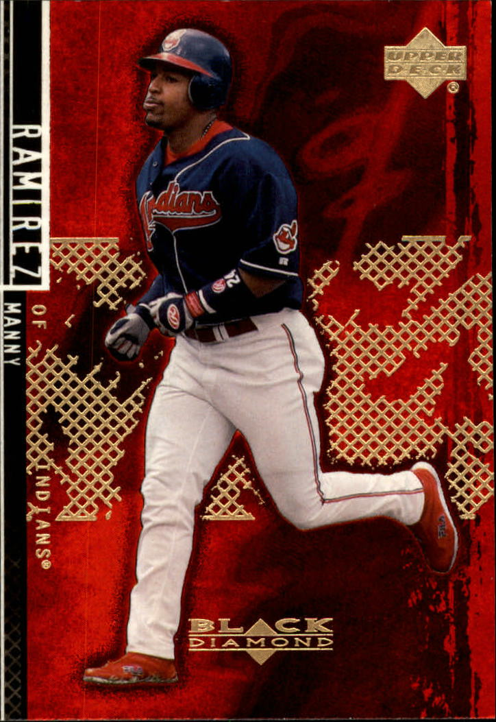 2000 Black Diamond Rookie Edition #13 Manny Ramirez