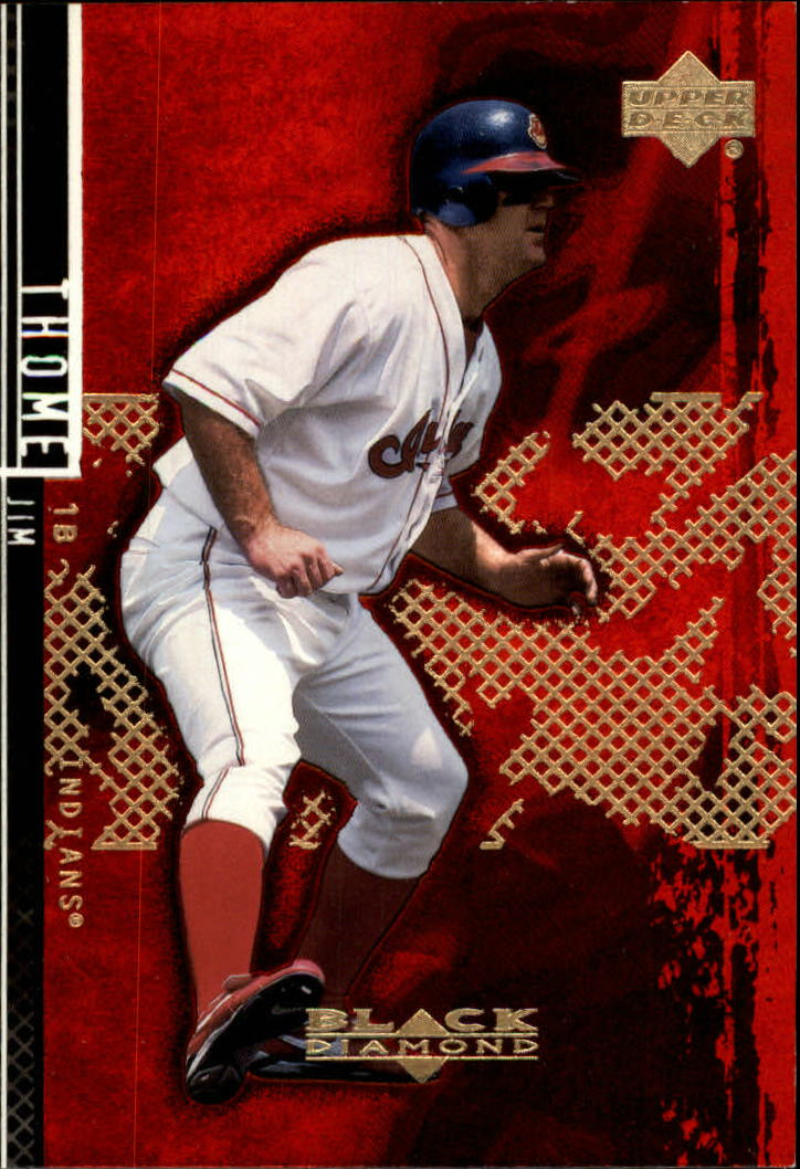 2000 Black Diamond Rookie Edition #15 Jim Thome