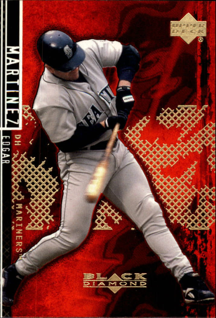 2000 Black Diamond Rookie Edition #17 Edgar Martinez front image