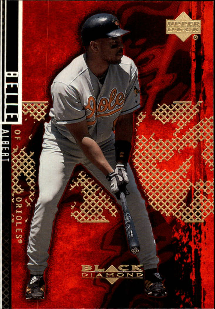 2000 Black Diamond Rookie Edition #19 Albert Belle
