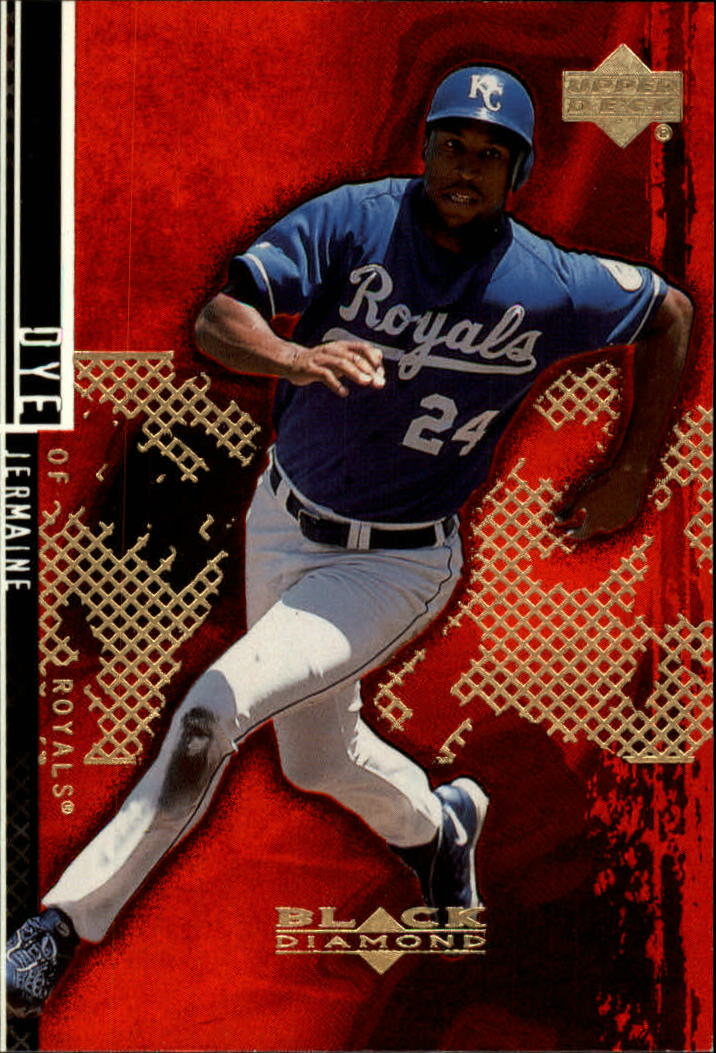 2000 Black Diamond Rookie Edition #27 Jermaine Dye